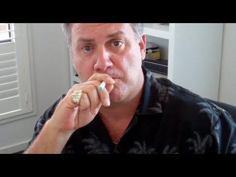 Trying an Electronic Cigarette for the first time...