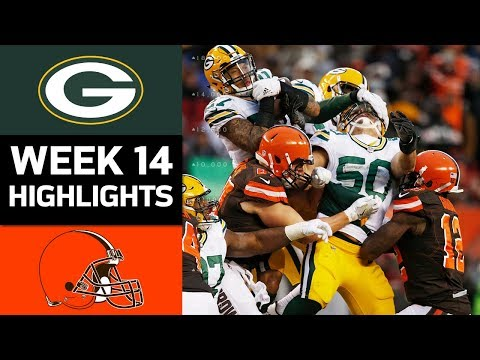 Packers vs. Browns | NFL Week 14 Game Highlights