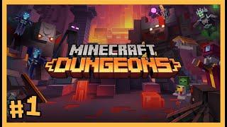 BEKLENEN OYUN GELDİ OYNAYAL M 😍😍😍 - Minecraft Dungeons - 1