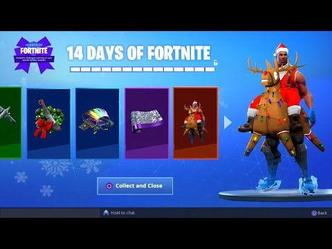 *NEW* ALL CHRISTMAS GIFTS LEAKED GAMEPLAY! (Fortnite: Final Reward Leaked) thumbnail