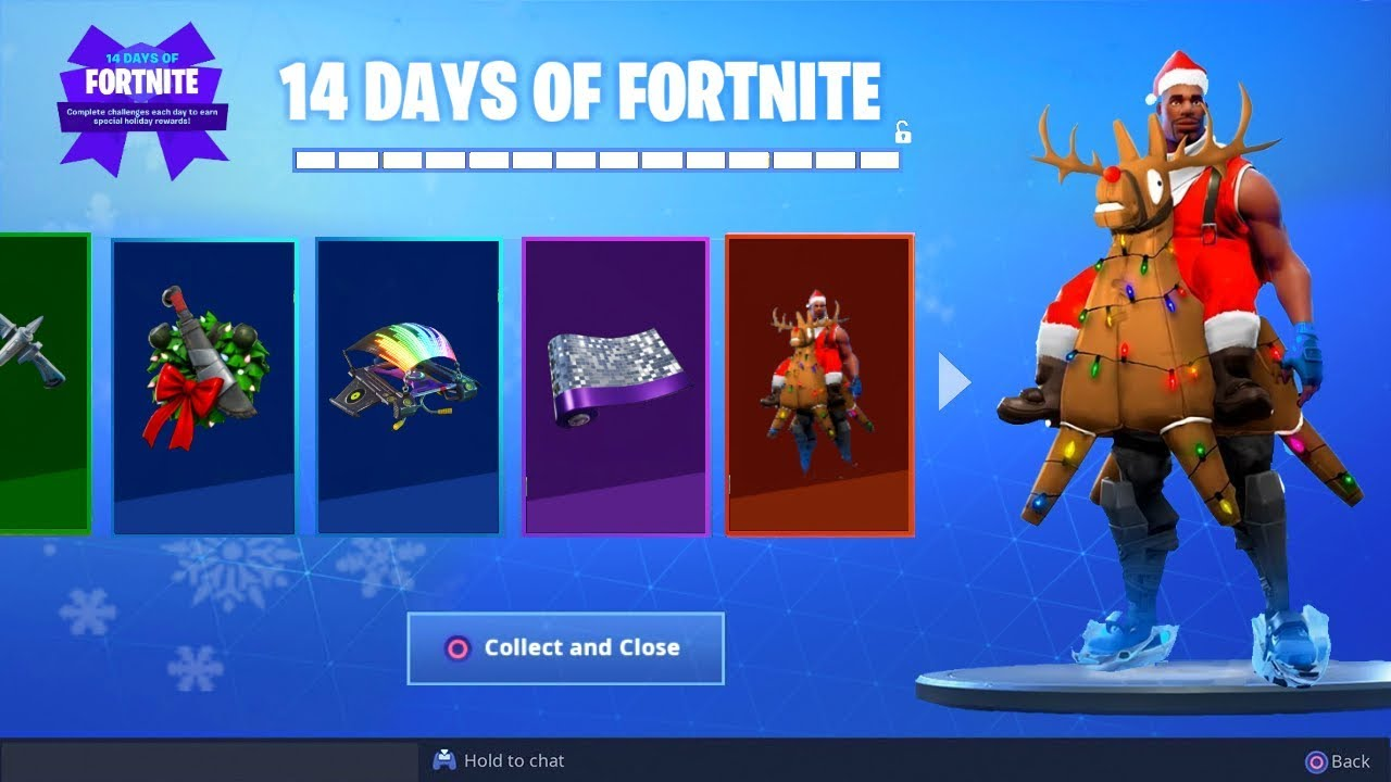 *NEW* ALL CHRISTMAS GIFTS LEAKED GAMEPLAY! (Fortnite ...