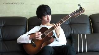 2ne1) Lonely   Sungha Jung (12 strings guitar   4capo Ver)