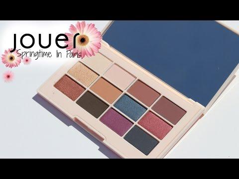 Jouer Cosmetics Springtime In Paris Palette | SWATCHES