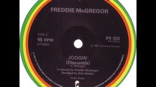 "FREDDIE MCGREGOR ""JOGGING"" (TUFF GONG) 12"""