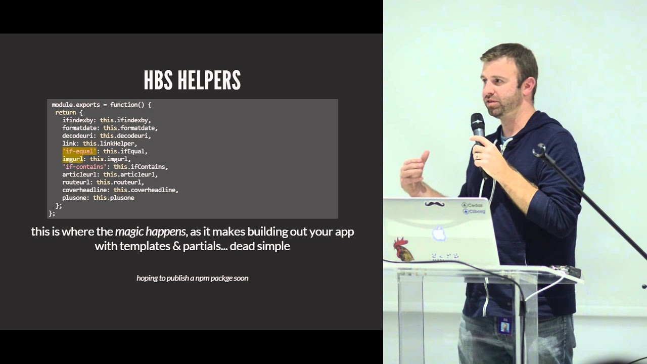 Building Content Sites with Node.js - Brad Oyler