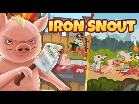 Iron Snout + игра для свиней