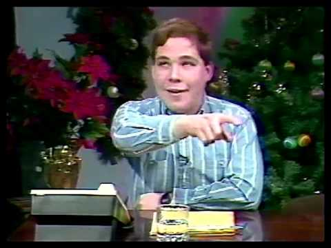Scott's embarrassing first call-in TV show at age 17