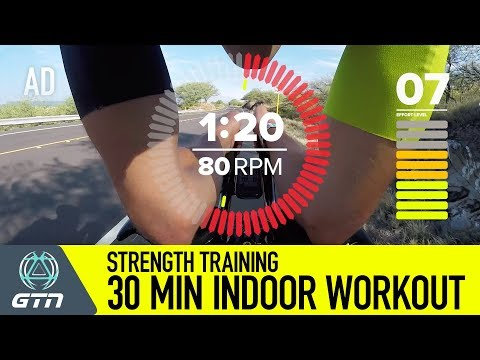 Strength Training With GTN | Indoor Hill Training On The Ironman World Champs Course