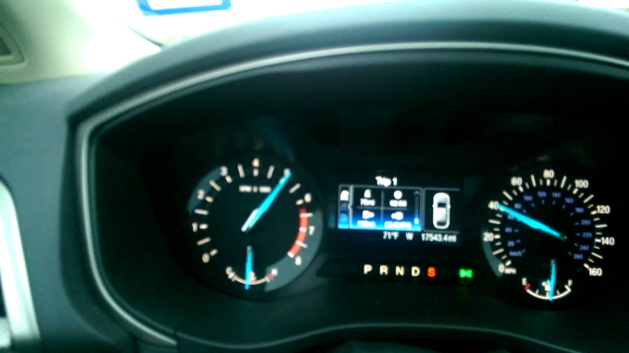 2016 Ford Fusion 2 5l Acceleration