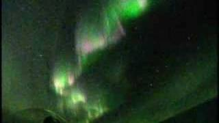 Aurora Borealis Break Up (normal speed) オーロラ爆発 2007/09/23 Northern Lights Break up