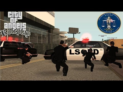 CoA LSPD Pursuit | USAO SAM U PD | SAMP Roleplay Ep.11
