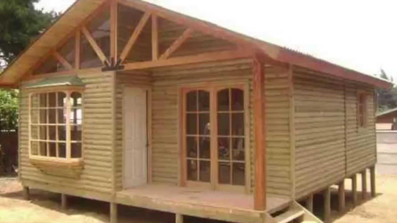 Casas prefabricadas en soria casas de madera youtube for Prefabricadas madera