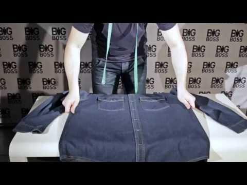 Как определить точный размер мужской рубашки большого размера.