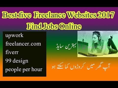 Best five  Freelance Websites 2017  Find Jobs Online