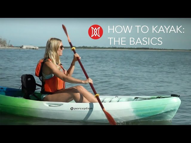 How to Kayak - What Beginners Need to Know | Perception Kayaks