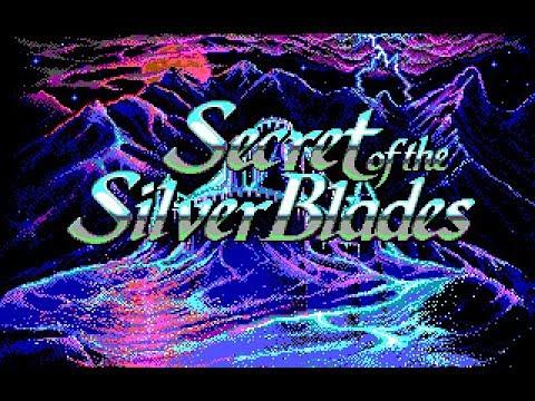 Secret of the Silver Blades (PC/DOS) 1990, Strategic Simulations, Inc.