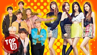 Top 10 Most Popular KPOP Groups ★ Best Korean Pop Bands
