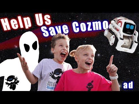 Ninja Kidz Tv VS Space Creature! Help save Cozmo!