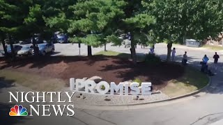 NBA Star LeBron James' I Promise School Opens For First Day | NBC Nightly News