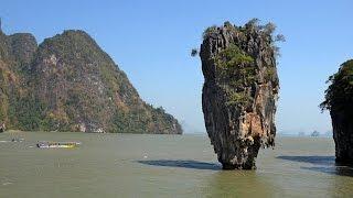 Phang Nga Bay, Thailand in 4K (Ultra HD)
