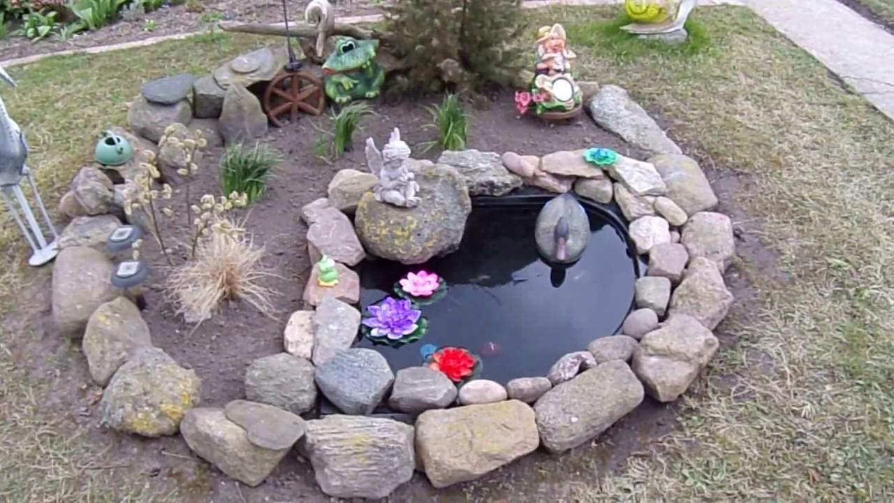 Декоративный бассейн своими руками