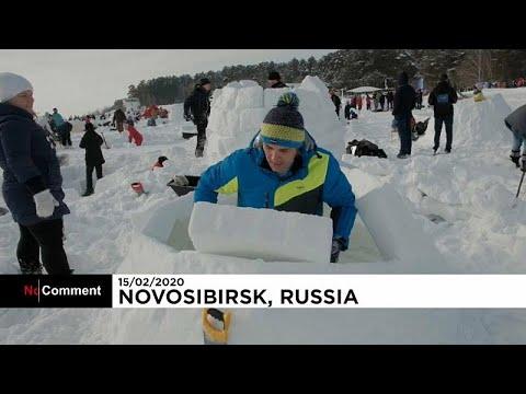 شاهد: مسابقة لبناء هياكل من الثلوج بأقل من 3 ساعات في مدينة نوفوسيبيرسك الروسية…  - نشر قبل 3 ساعة