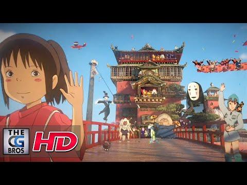 "CGI 3D Animated Short: ""Tribute to Hayao Miyazaki""  - by DONO"