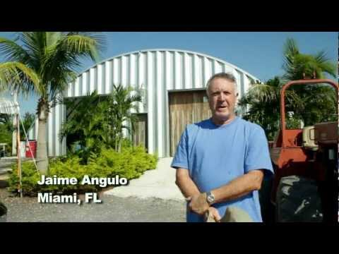 Commercial Steel Building for Hurricanes in Miami, Florida by Curvco Steel Buildings
