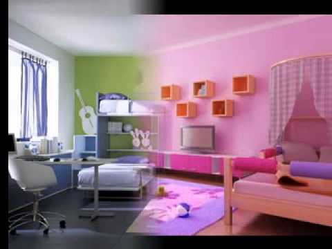 Easy DIY Children room design decorating ideas - YouTube