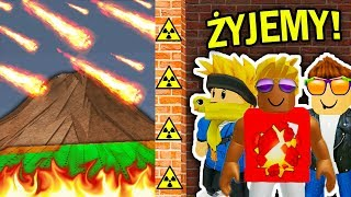 HOW TO SURVIVE THE RAIN OF METEORITES IN ROBLOX!!!!