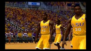 ESPN College Hoops 2K5 - LSU vs Tennessee Gameplay - XBOX