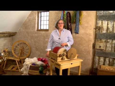 How To Use A Drum Carder (HD)