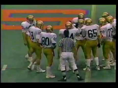 WEST GENESEE vs ROME FREE ACADEMY FOOTBALL 1988 SECTION 3 FINAL