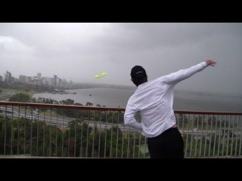 World's Longest Frisbee Throw | Brodie Smith