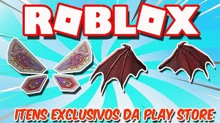 HOW TO PICK UP EXCLUSIVE GOOGLE PLAY ITEMS BY PC-ROBLOX