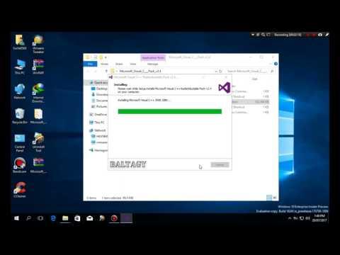 How To Use Microsoft Visual C++ Redistributable 2005-2017 V2.4    #VuiVe9569 - VuiVe9569