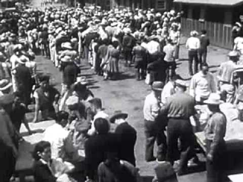 Japanese Relocation 1942 American Internment camp World War Two film movie