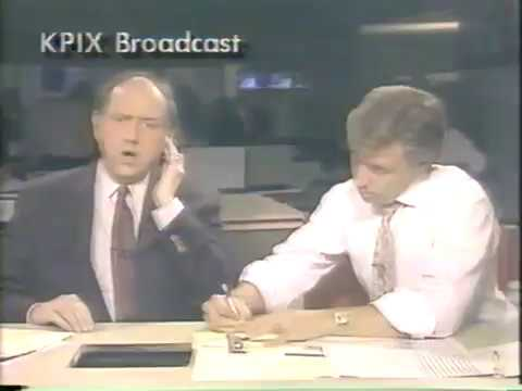 1989 San Francisco, Oakland Bay California Earthquake News Coverage