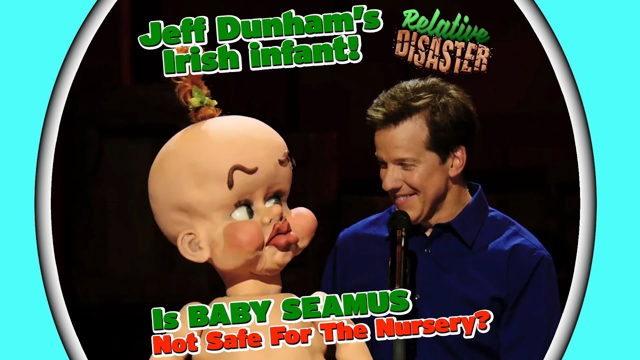 Jeff Dunham Christmas 2019 Jeff's Irish infant! Is BABY SEAMUS Not Safe For The Nursery