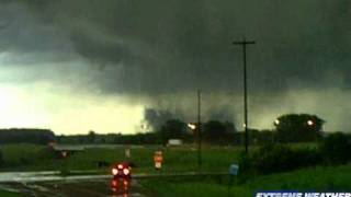 close up wedge tornado albert lea mn june 17 2010