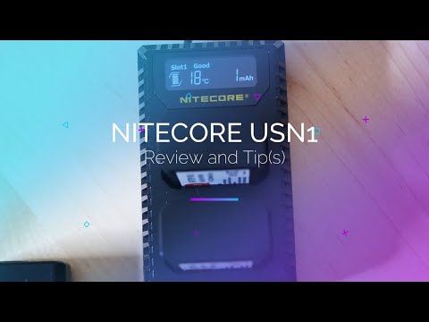 Nitecore USN1 Sony Battery Charger Review