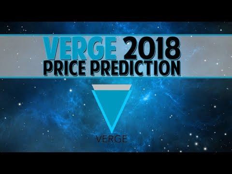 Verge (XVG) 2018 price prediction - The superior privacy coin