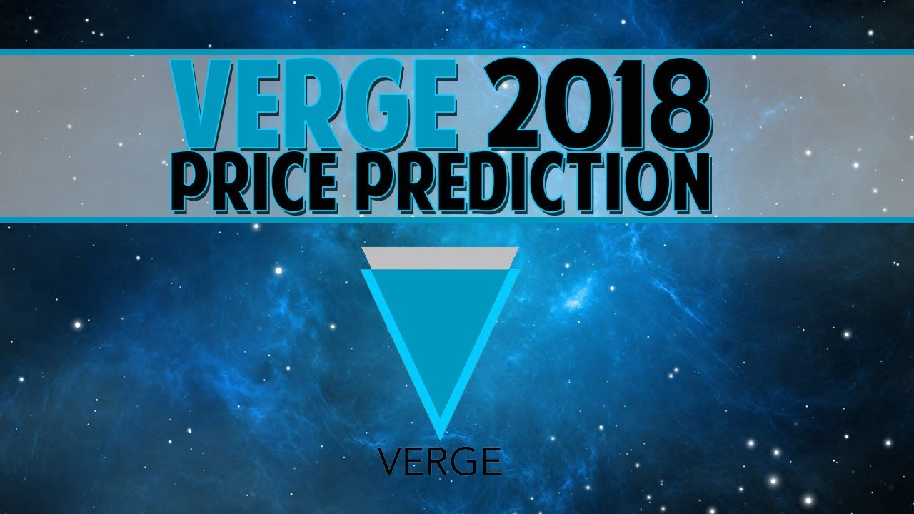 verge cryptocurrency predictions