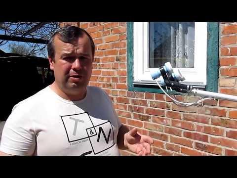Как поменять головку (конвектор) на спутниковой антенне