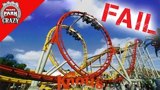 Failed Roller Coasters: Windjammer Surf Racers at Knott's Berry Farm