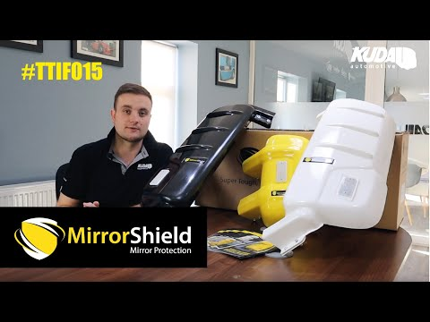 MirrorShield Professional Truck and Van Mirror Guards - Thank Truck It's Friday #015