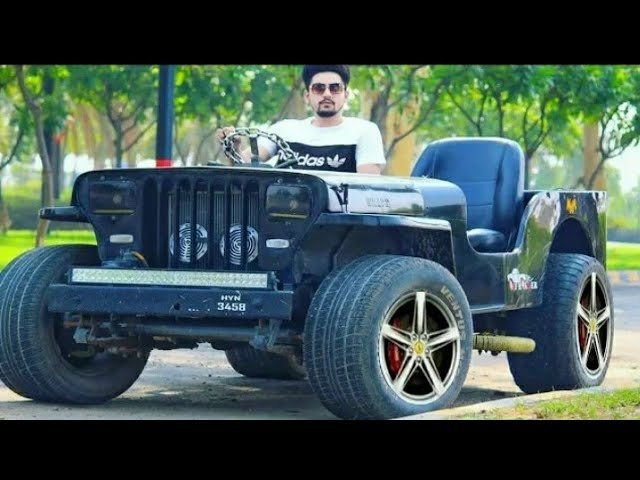 Modified Open Jeep Punjab Open Jeep Modified In Punjab Youtube