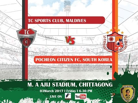 Live On | Final | TC Sports Club Maldives VS Pocheon Citizen FC South Korea | Match No- 15