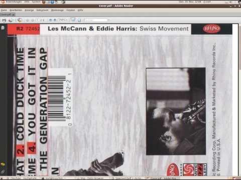 Einfachste CD-Cover-Erzeugung aus 2 jpg Dateien