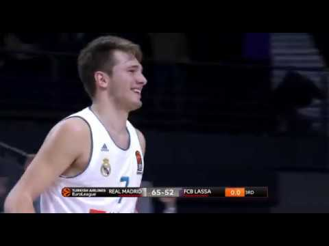 Amazing shot by Luka Doncic in yesterday's game